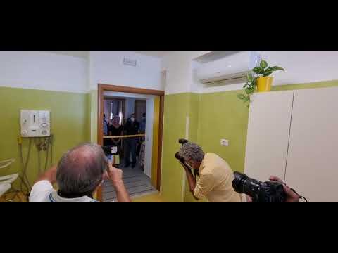 Villa della fraternità, Gratteri inaugura un bagno assistito per anziani