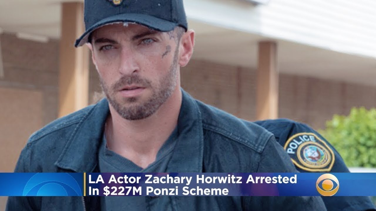 Actor Zachary Horwitz agrees to plead guilty in Ponzi scheme