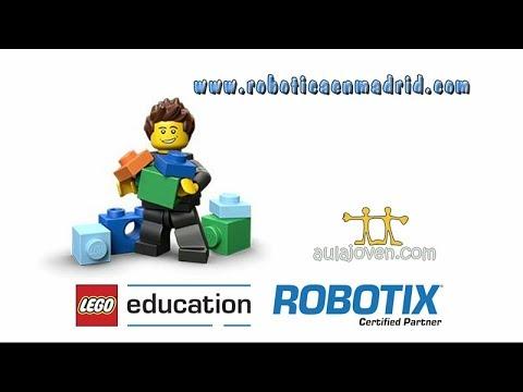 LEGO EDUCATION ROBOTIX. ROBOTICA EDUCATIVA. MAQUINAS CON MOTOR