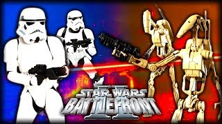 Star Wars Battlefront 2 Gameplay | Ep.8 Stormtroopers vs Battle Droids