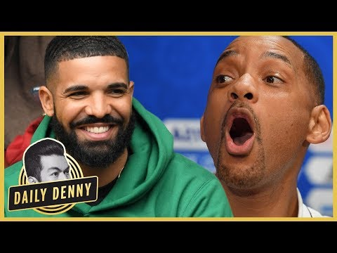 Will Smith's Shiggy Challenge Video Gets Drake's Seal Of Approval | #DailyDenny