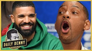 Will Smith's Shiggy Challenge Video Gets Drake's Seal Of Approval | Daily Denny