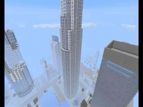 Minecraft Los Angeles Los Santos Gta Sa Youtube