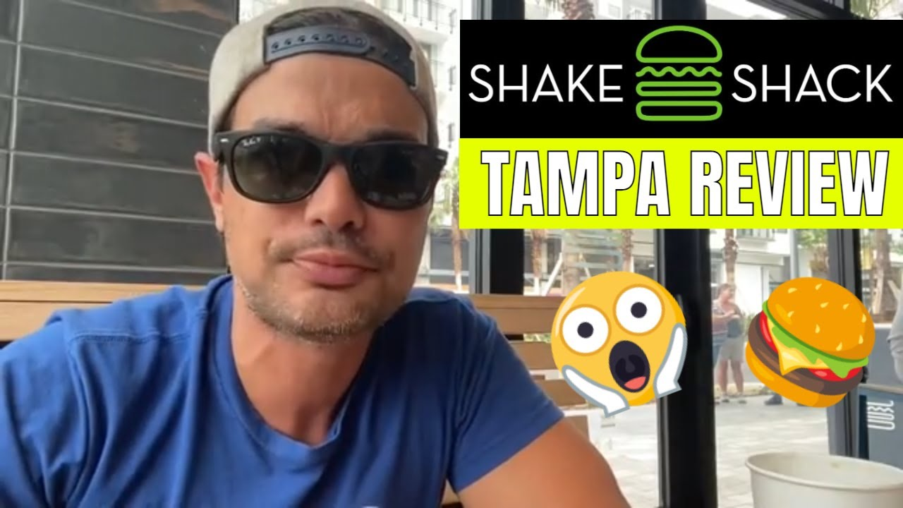 NEW Shake Shack in Tampa FL - Food Review #tampafoodreview