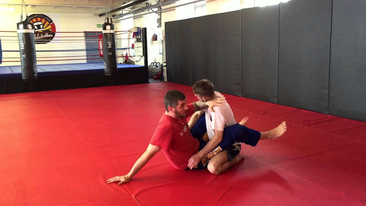 Closed Guard Stand Up for MMA
