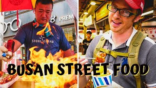 Ultimate KOREAN STREET FOOD Tour in Busan, Korea