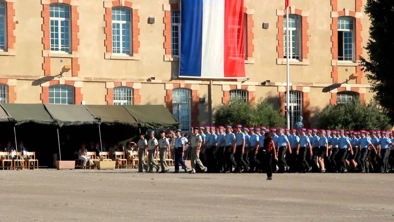 Lyc e militaire d 39 aix en provence 1 re compagnie youtube - Lycee salon de provence ...