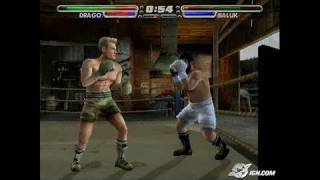 Rocky Legends PlayStation 2 Gameplay - Whatever he hits,