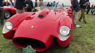 Ferraris At Pebble Beach 2018
