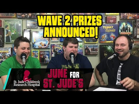 Wave 2 Prizes of the June For St. Jude's Giveaway! - SDS Podcast Ep. 40