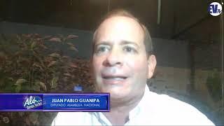 """""""El Sebin me persigue todo el tiempo"""" Juan Pablo Guanipa - Aló Buenas Noches EVTV - 09/21/18 SEG3"""