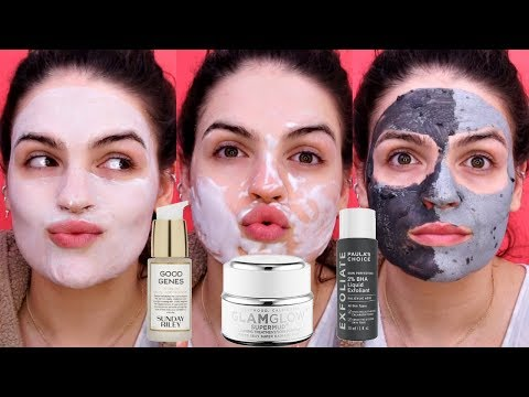 How to Minimize Large Pores | Skincare Routine - YouTube