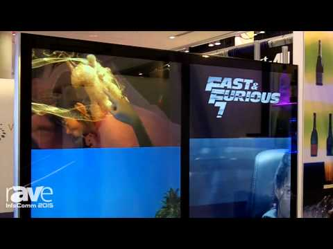 InfoComm 2015: Neuimage Explains Dual Totem Freestanding Video Wall