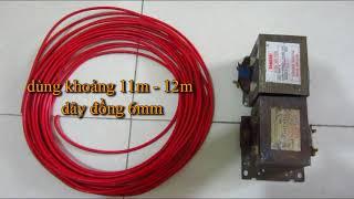 Hướng dẫn chế tạo máy hàn mini tự chế