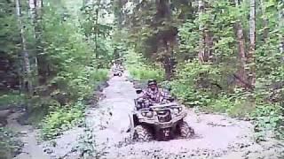 Off-road atv Yamaha grizzly 700 vs Stels 700 vs Stels 500 vs WP 300v.m4v