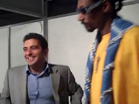 Snoop Dogg and Security Chillin Backstage Before Show in BEIRUT, LEBANON