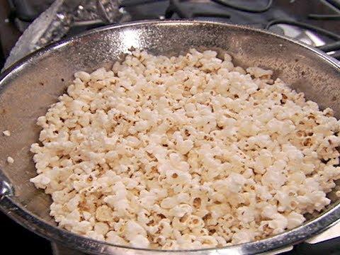 Alton Brown's Perfect Popcorn | Food Network