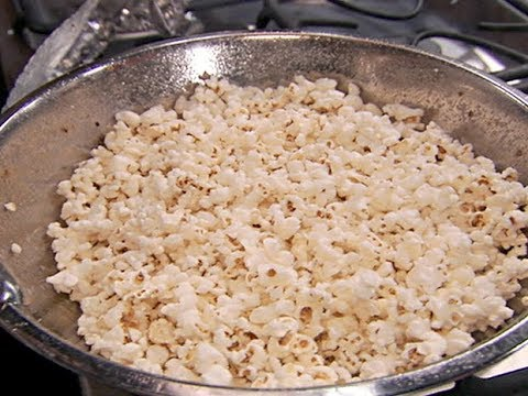 Alton Brown Makes Perfect Popcorn | Food Network