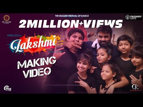 Lakshmi | Making Video | Prabhu Deva,...