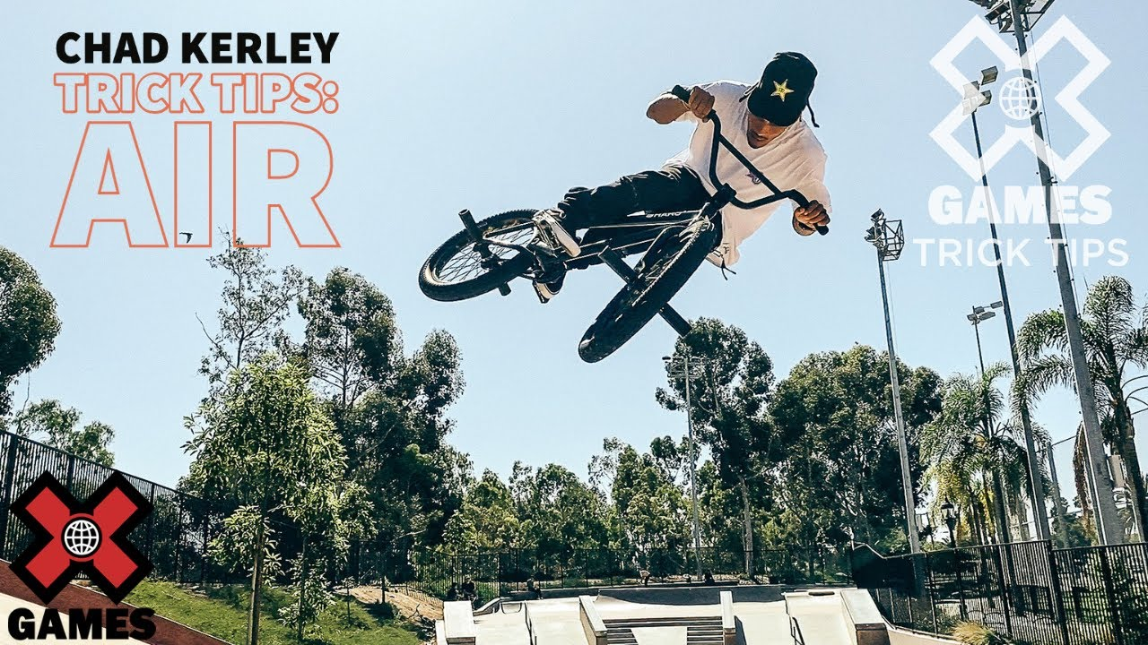 CHAD KERLEY: Quarterpipe Air Trick Tips | World of X Games