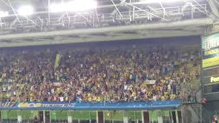 Benfica maçına damgasını vuran tezahürat. KEDERLİ GÜNLER OLSA DA BAZEN SEVİYORUZ SENİ CANI GÖNÜLDEN