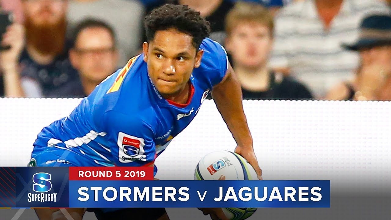 Stormers v Jaguares | Super Rugby 2019 Rd 5 Highlights