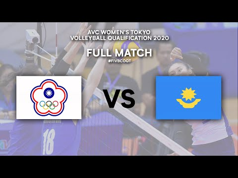 TPE Vs. KAZ - Full Match  | AVC Women's Tokyo Volleyball Qualification 2020