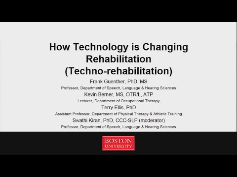 How Technology is Changing Rehabilitation (Techno-Rehab)
