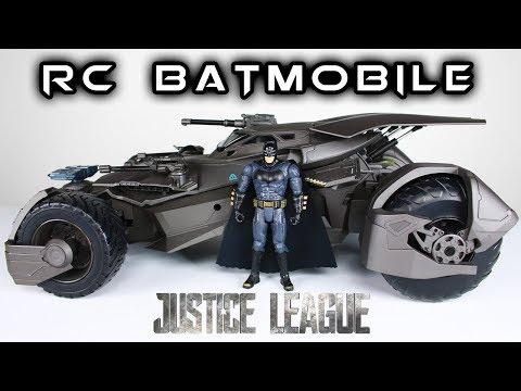 Mattel Ultimate BATMOBILE Justice League RC Car Toy Review