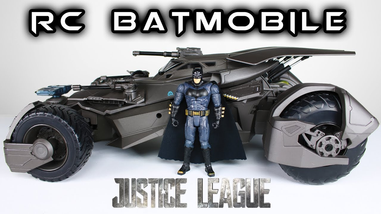 Mattel Ultimate Batmobile Justice League Rc Car Toy Review Youtube