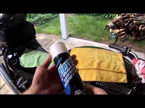Motorcycle Plastic Care And Cleaning