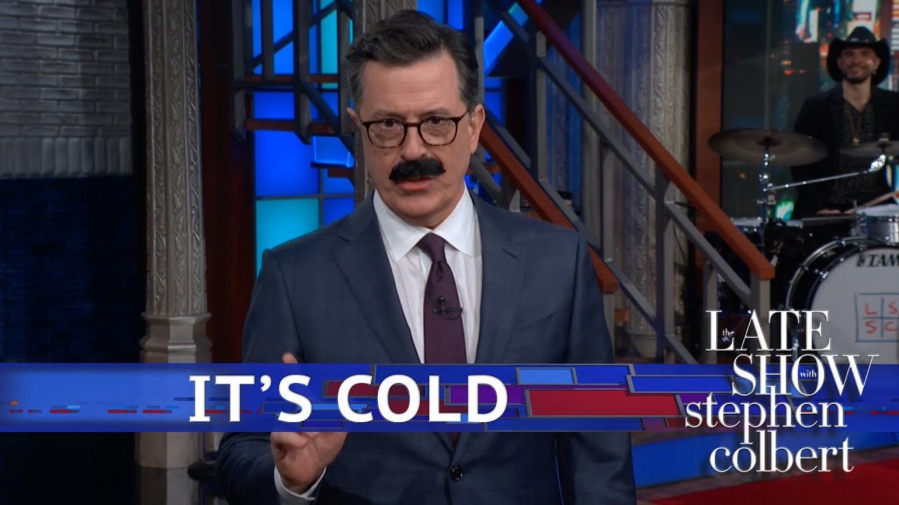 Stephen Colbert offers cold weather tips to Chicago amid