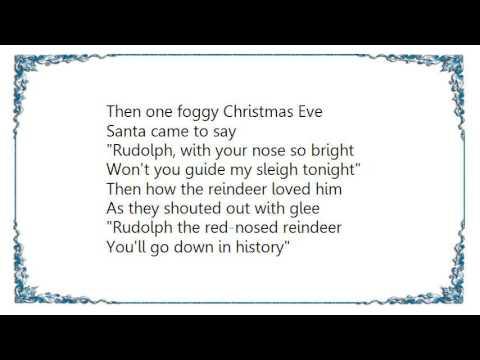 John Denver - Rudolph The Red-Nossed Reindeer Lyrics