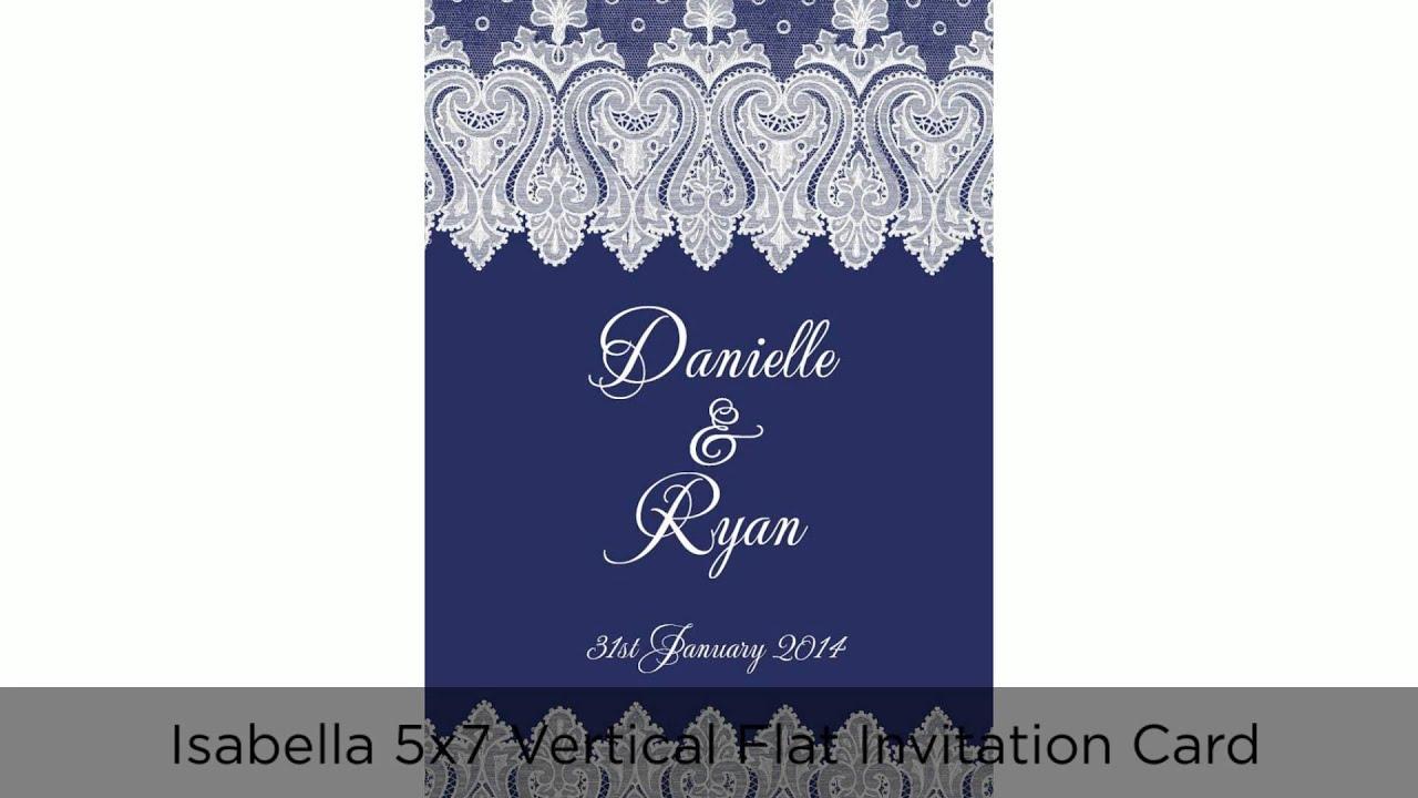 Wedding invitation youtube 1785879 vdyufo navy blue wedding invitations youtube stopboris Gallery