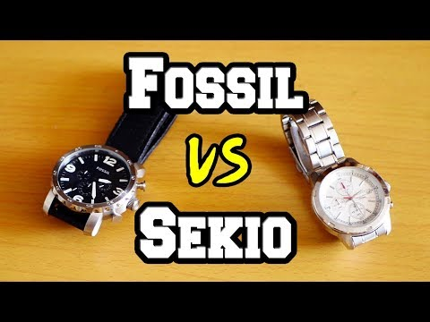 Fossil Vs Sekio | Which Is Better ?