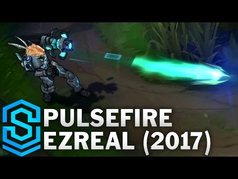 Pulsefire Ezreal (2017) Skin Spotlight - League of Legends