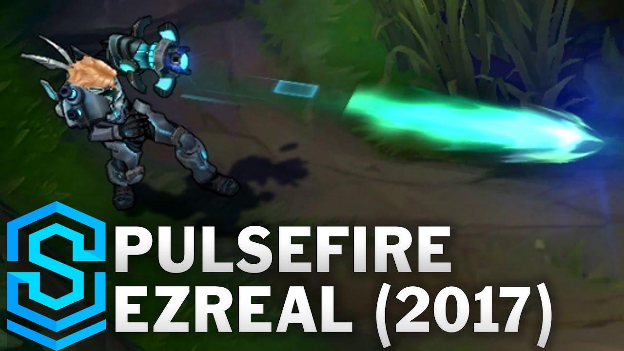 Pulsefire Ezreal 2017 Skin Spotlight League Of Legends Youtube