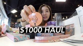 $1000 BEAUTY HAUL: Lush, Style Nanda 3CE, & More!