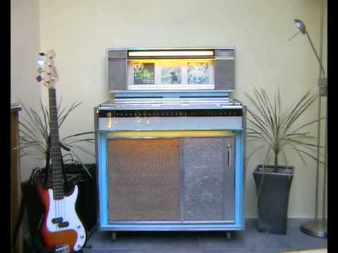 1964 rockola grand prix jukebox youtube. Black Bedroom Furniture Sets. Home Design Ideas