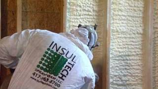 Spray Foam Insulation - Conserves Energy & Saves Money