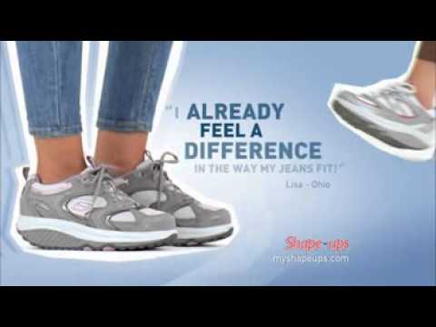 3c6b02332904 SKECHERS Shape-ups Commercial - YouTube