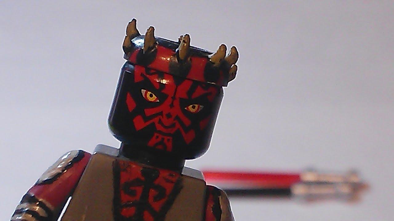 Lego Star Wars- Custom Showcase- Season 5 Darth Maul(50 ...