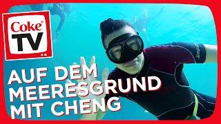 Cheng und Markus im Tiefenrausch | #CokeTVMoment
