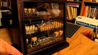 Apothecary Display Cabinet - Tutorial Part 7(final)