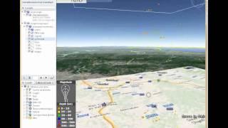 Animazione Google Earth terremoto firenze 2014 AGGIORNATA al 20 dicembre, 15:15