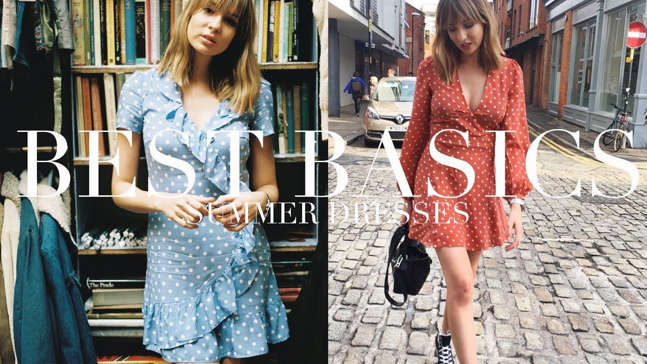 Testing Basics Summer Dresses Tea Dresses Realisation Par Youtube
