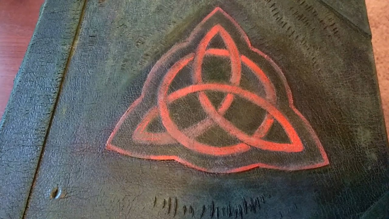 charmed book of shadows replica youtube