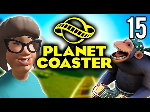 Planet Coaster | Airtime Coaster! (Lets Play Planet Coaster / Gameplay Part 15)
