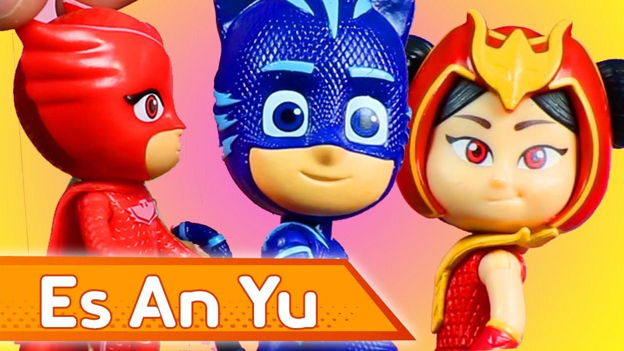 Es An Yu | Heroes en Pijamas Juguetes en Español | Juguetes en Español