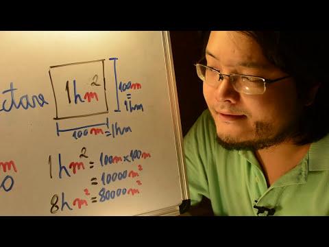ENEM 2014 - Matemática 144 - Unidades e o Hectare - segundo dia rosa - Aulas A+ Resolve